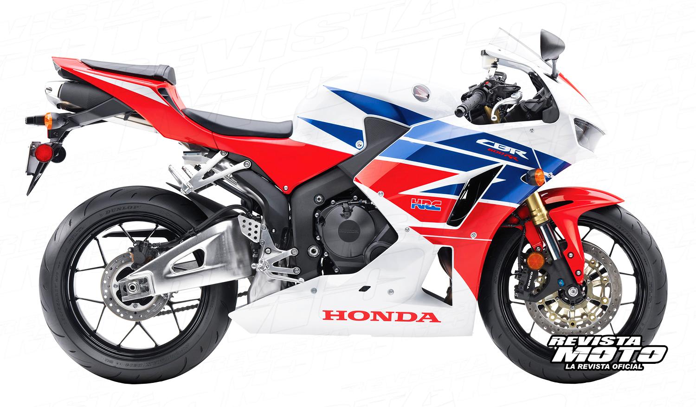 2013 Honda CBR600RR.