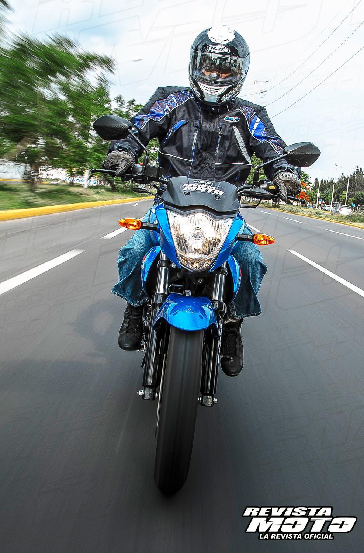 Suzuki Gixxer 150 2015 Con Toda Confianza Revista Moto