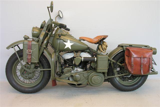 Harley Davidson Wla Una Moto De Guerra Que Cumplir 225 76