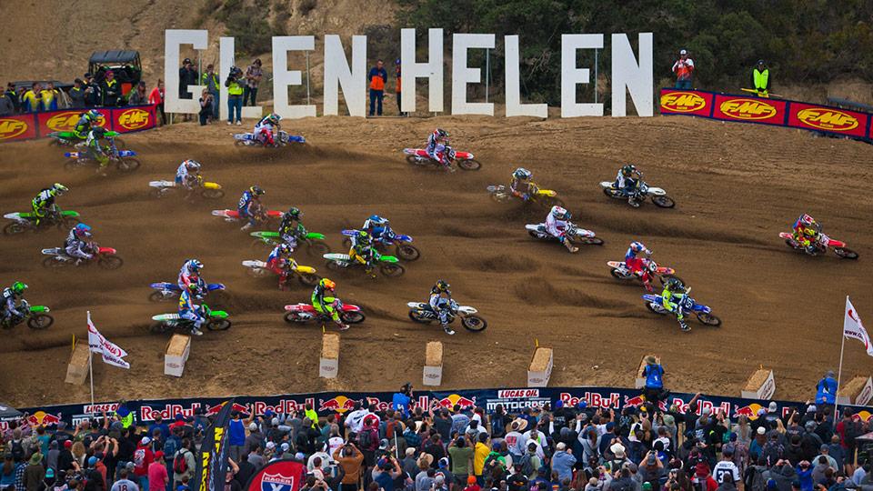 Glen Helen pista