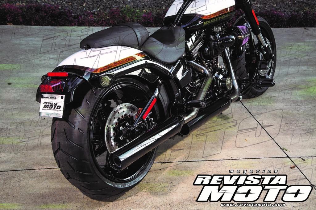 Harley-Davdison CVO PRO STREET BREAKOUT 2016 (2)
