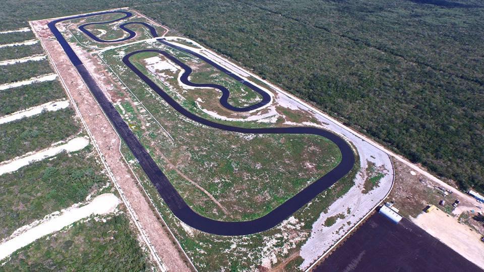 Circuito Yucatan : Construyen en yucatán una pista que albergará a las