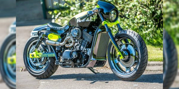 Harley-Davidson Street 750 Factory Racer: Simple y llamativa