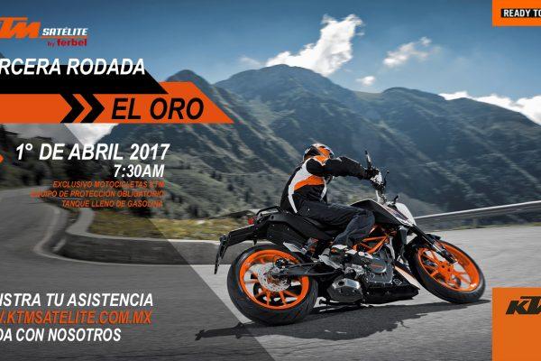 KTM Satélite te invita a rodar a El Oro