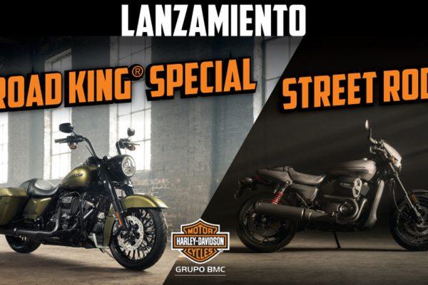 Muy pronto en Harley-Davidson Santa Fe las nuevas Road King Special y Street Rod