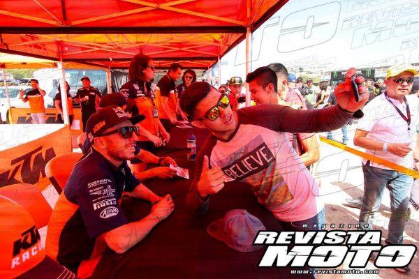 Asiste a la firma de autógrafos de los mejores pilotos del MXGP México