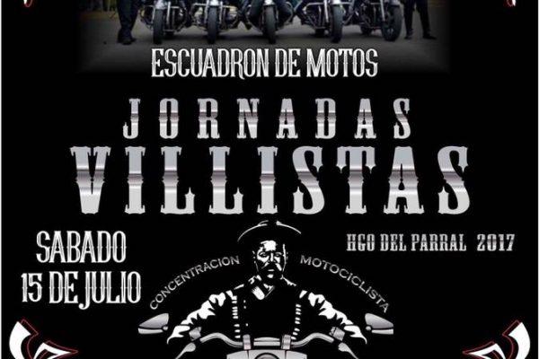 ¡Prepara tu motocicleta, ya vienen las Jornadas Villistas 2017!