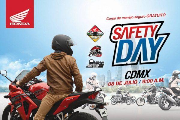 Regresan los Safety Day de Honda de México
