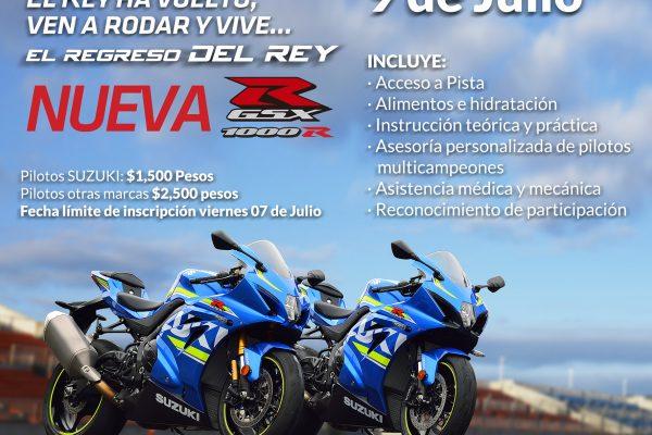 Vive el regreso del rey en México con Suzuki
