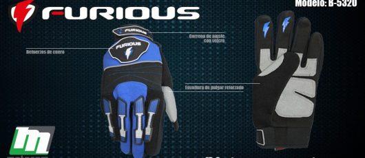Furious te invita a rodar con seguridad con su completa gama de guantes de alta tecnología