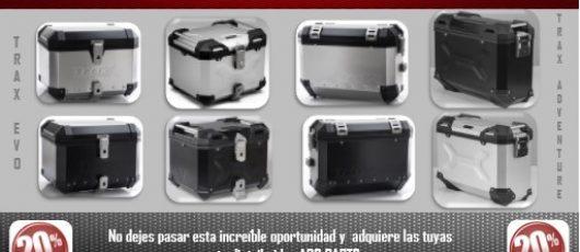 Acc-Parts te invita a rodar con estilo con sus nuevas maletas de aluminio