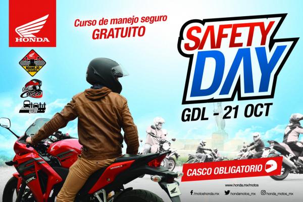 Alista tu casco y tu moto para el Safety Day de Honda en Guadalajara
