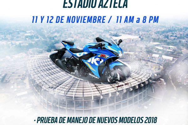 Suzuki México realizará su Test Drive 2017 en el Estadio Azteca