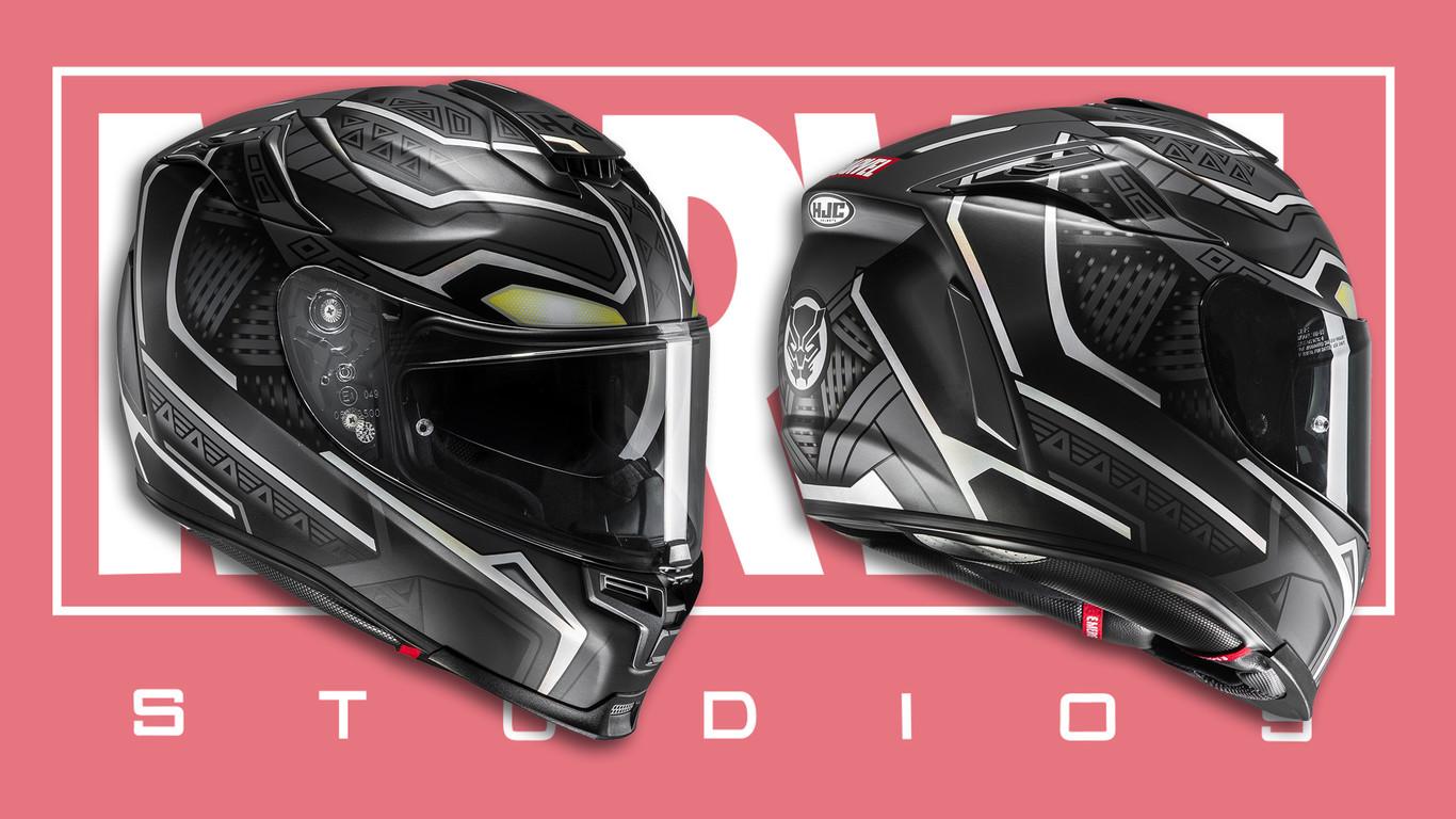 black panther el nuevo casco de hjc revista moto. Black Bedroom Furniture Sets. Home Design Ideas