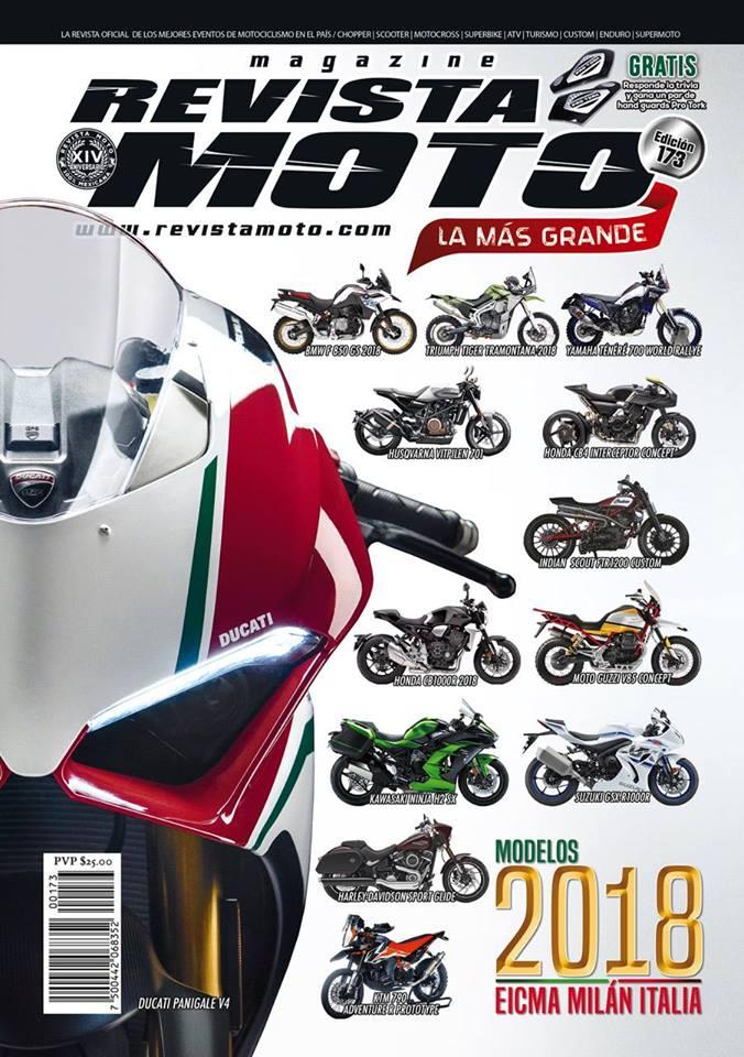 Cerremos el año con broche oro con la edición 173 de tu Revista Moto edición especial de EICMA