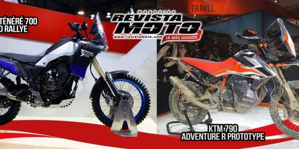 Conoce de las motos prototipo que estuvieron presentes en el EICMA: KTM 790 Adventure Prototype y  Yamaha Ténéré 700 World Raid