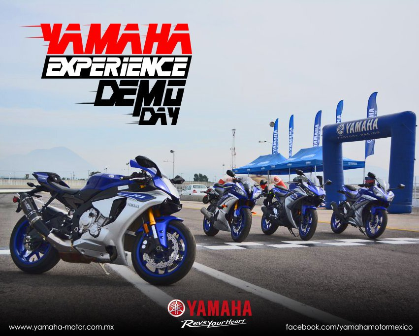 No te quedes fuera del yamaha experience demo day for Yamaha demo days