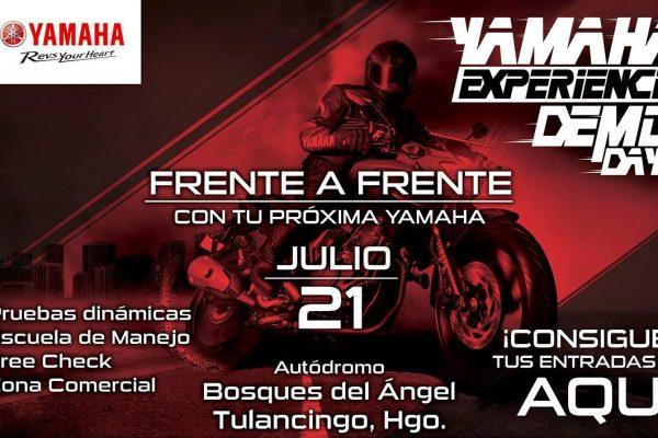 Yamaha Experience Demo Day llegará hasta Hidalgo