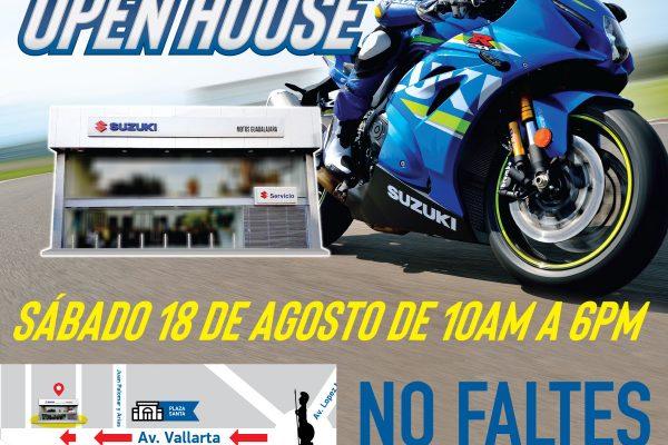 Prepárate para el Open House de Suzuki en Guadalajara