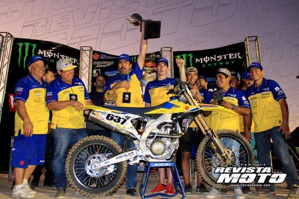 Equipo Suzuki Aguilar domina primera fecha del Campeonato Nacional de Motocross en Culiacàn