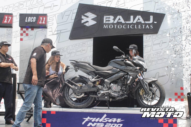 Presentación nueva Pulsar NS200 y Motoreality PROAM Championship