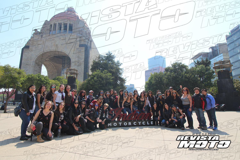 Rodada Indian Womens Power Ride CDMX