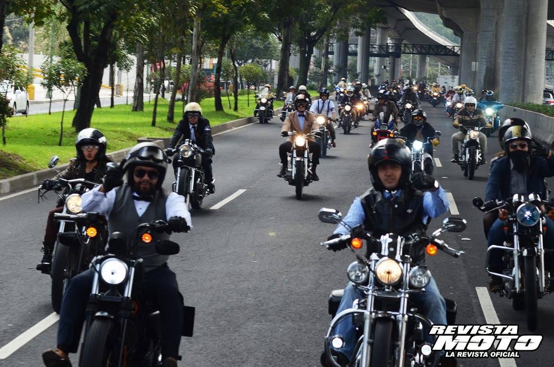 The Distinguished Gentleman´s Ride México 2015