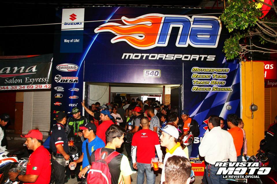 Inauguración NA Racing Shop Guadalajara
